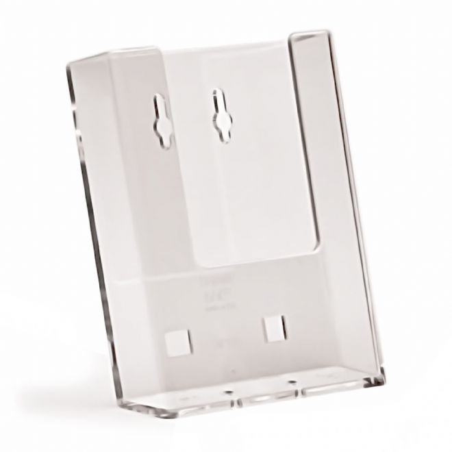 1 Pocket DL (1/3 A4) Portrait Leaflet Holder